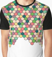 Fish Scale Graphic T-Shirt