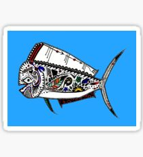 Mahi Mahi Fish Dolphin Sticker