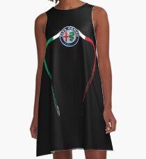 Alfa of Birmingham Tricolore A-Line Dress