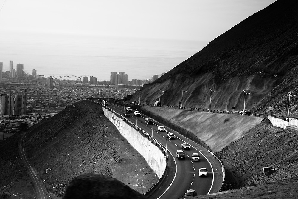 Iquique from Above by elisehendrick