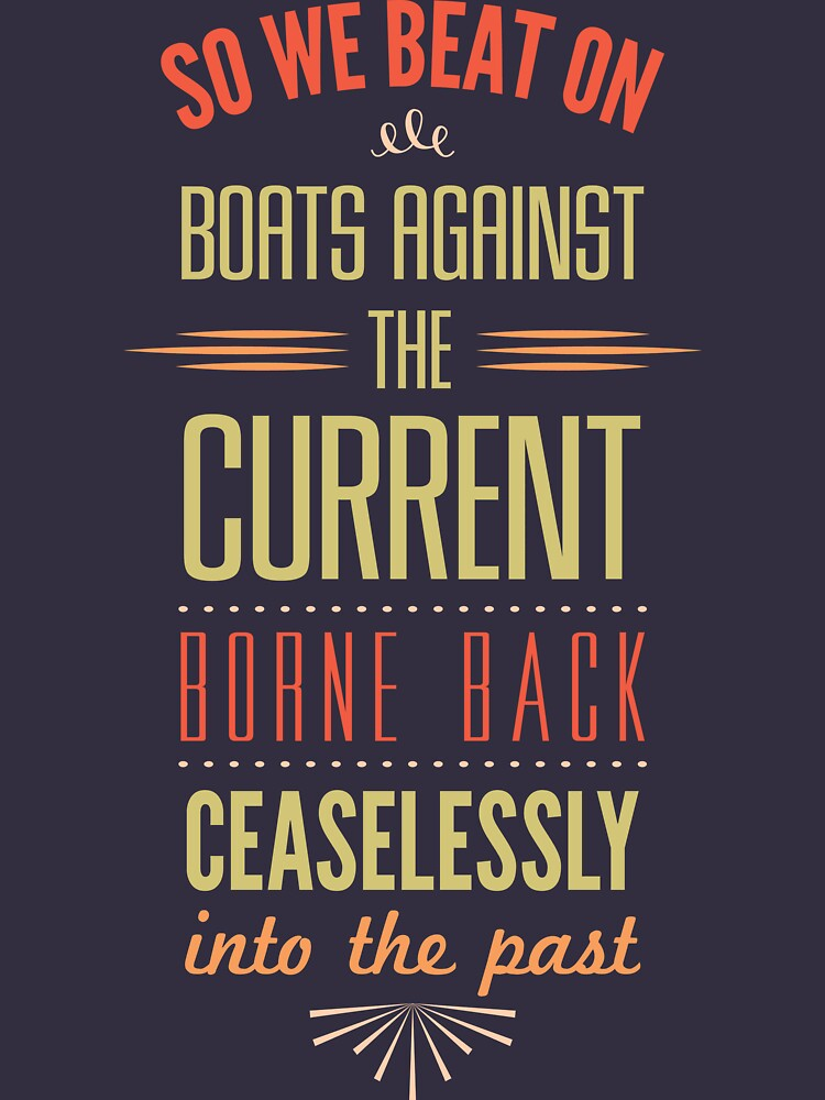 TShirtGifter presents: Boats Against the Current | Unisex T-Shirt
