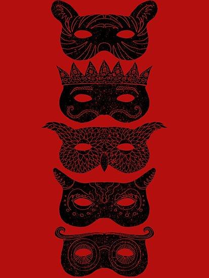 Masks by SusanSanford