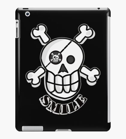 Smile before you die iPad Case/Skin