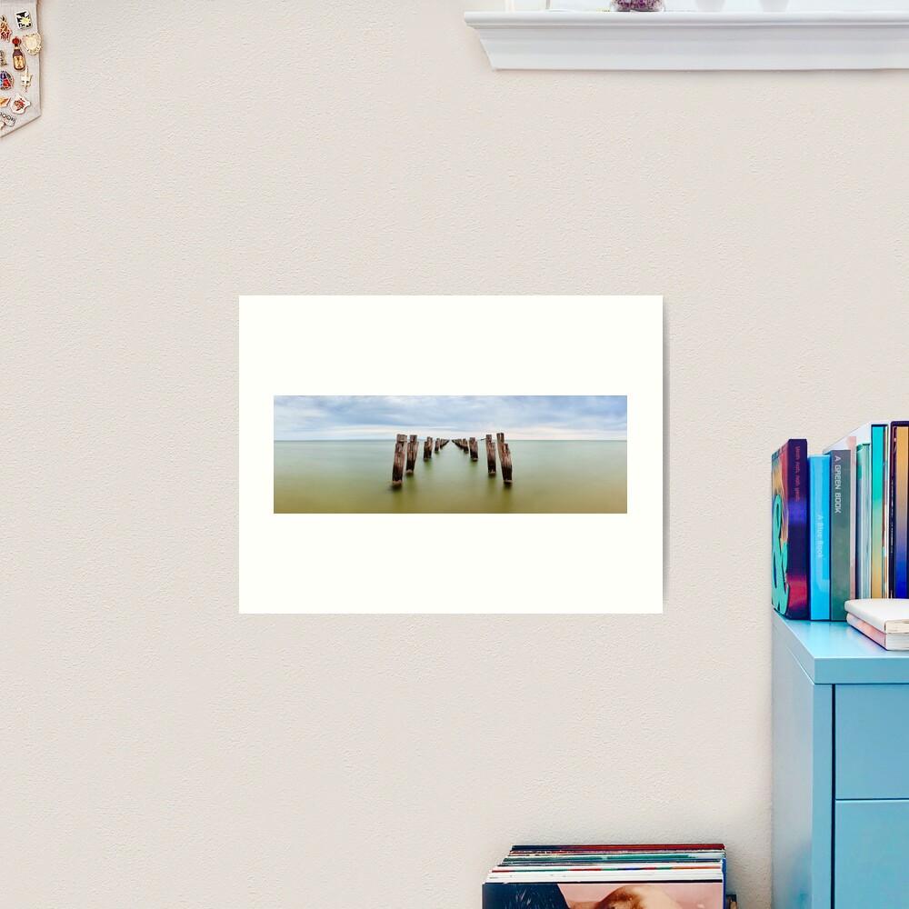Clifton Springs Pier, Victoria, Australia Art Print