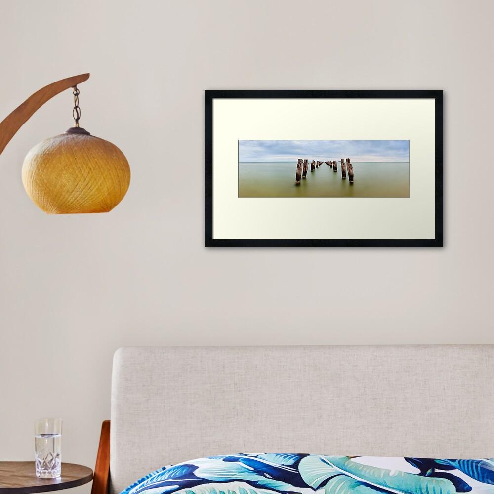 Clifton Springs Pier, Victoria, Australia Framed Art Print