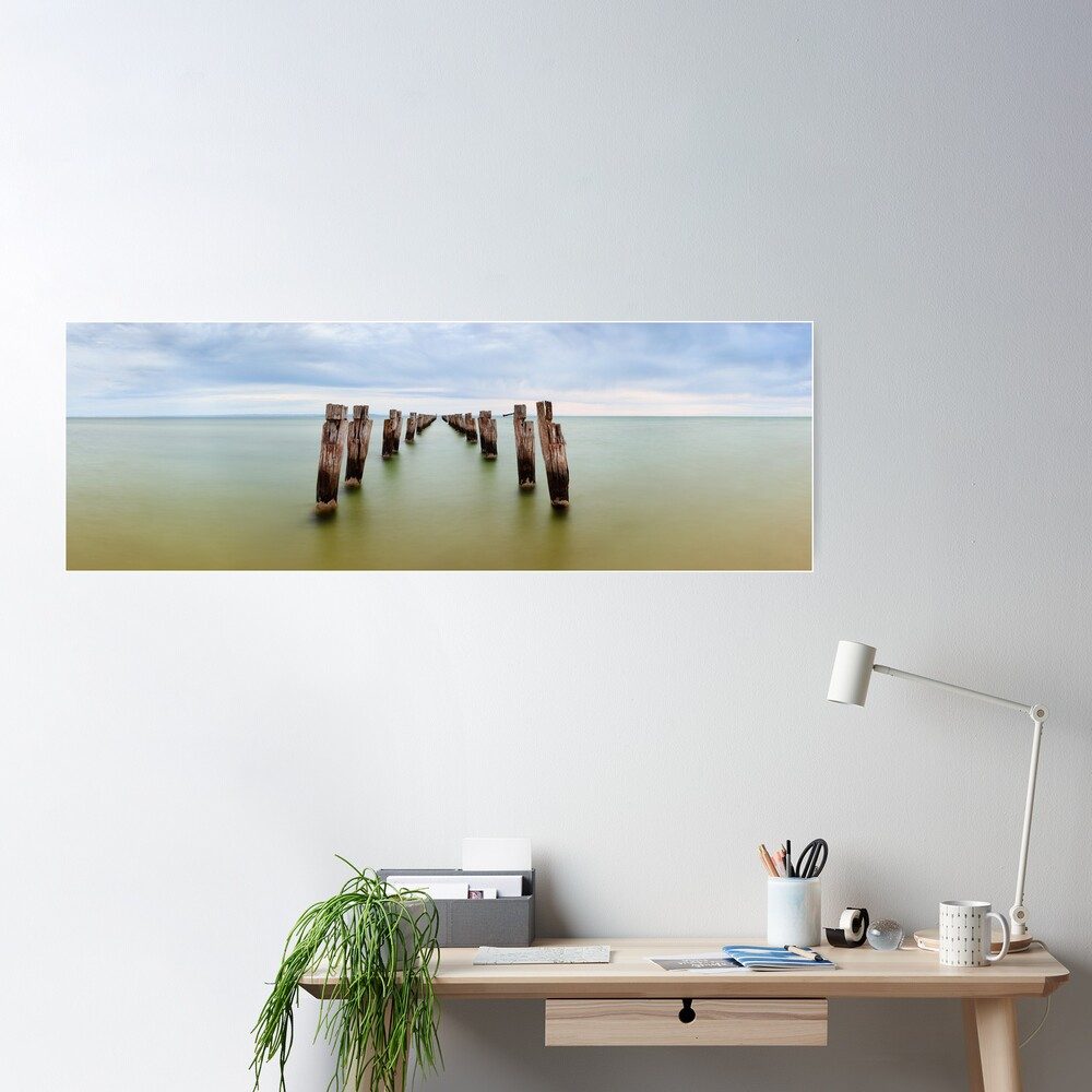 Clifton Springs Pier, Victoria, Australia Poster