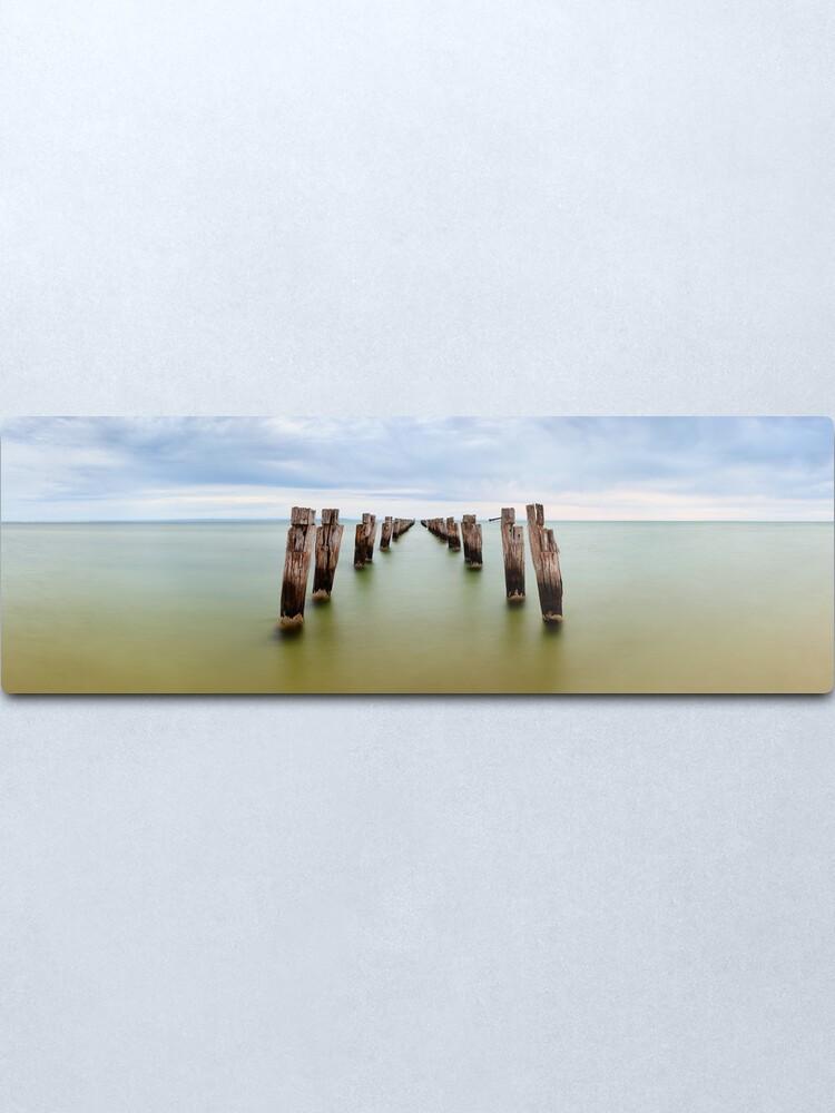 Alternate view of Clifton Springs Pier, Victoria, Australia Metal Print