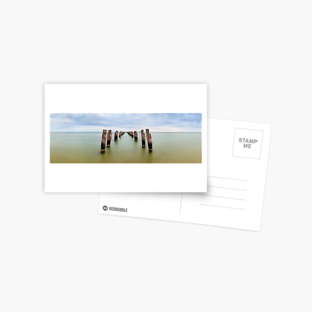 Clifton Springs Pier, Victoria, Australia Postcard