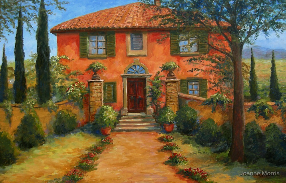 Bramasole, from Under the Tuscan Sun by Joanne Morris