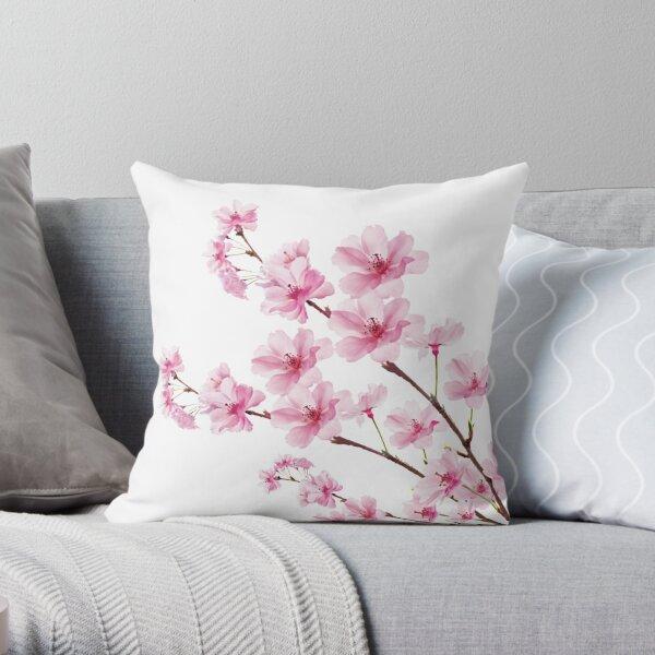 Sakura Cherry Blossom Throw Pillow