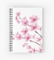 Sakura Cherry Blossom Spiral Notebook