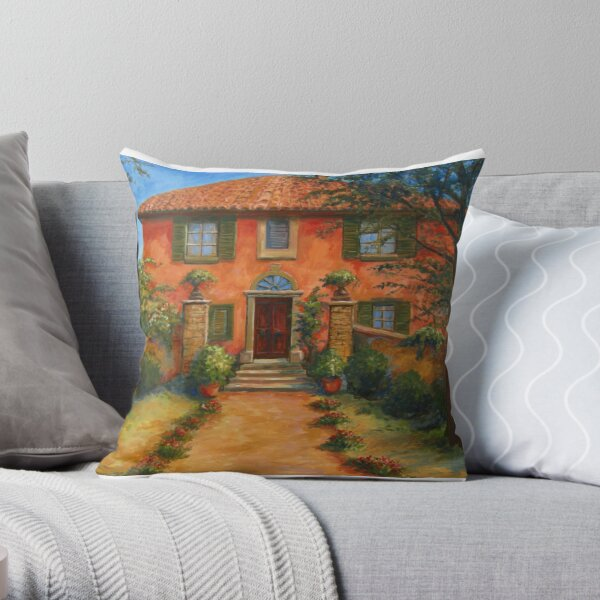 Bramasole, from Under the Tuscan Sun Throw Pillow