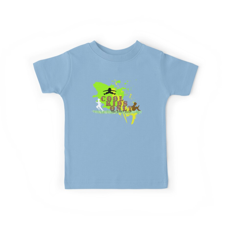 Cool Kids Only tee shirt club by UrbanDeploymen