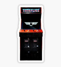 Timeflies Arcade Game Sticker