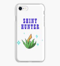 Shiny Hunter iPhone Case/Skin