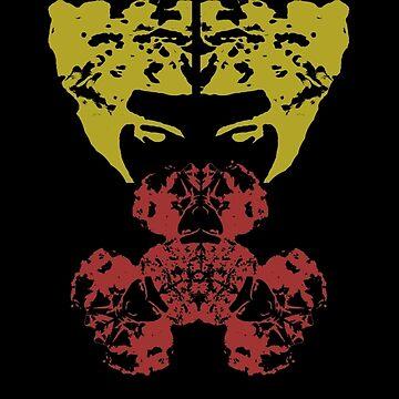 Afro Gas Mask  by SebastianSmith