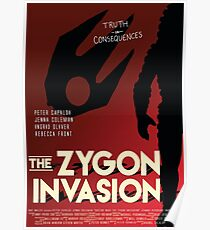 The Zygon Invasion Poster Poster