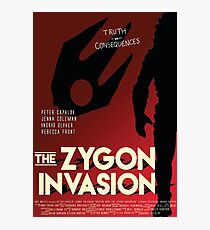 The Zygon Invasion Poster Photographic Print