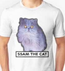 ssam the cat: 2016 [black] Unisex T-Shirt