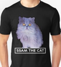 ssam the cat: 2016 [white] Unisex T-Shirt
