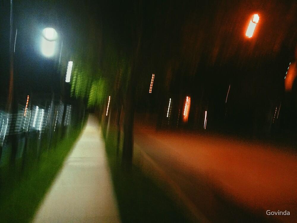 9:06, Walking at night by Govinda