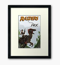 Raiders of the Lost Survival Framed Print