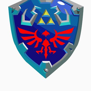 Hylian Shield w/o Cartridge by bmgoepfert