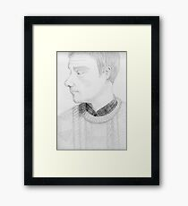 The One Fixed Point Framed Print