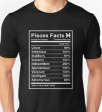 Pisces - Pisces Facts Unisex T-Shirt