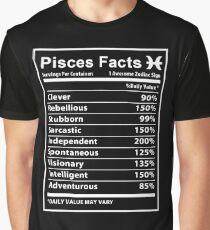 Pisces - Pisces Facts Graphic T-Shirt