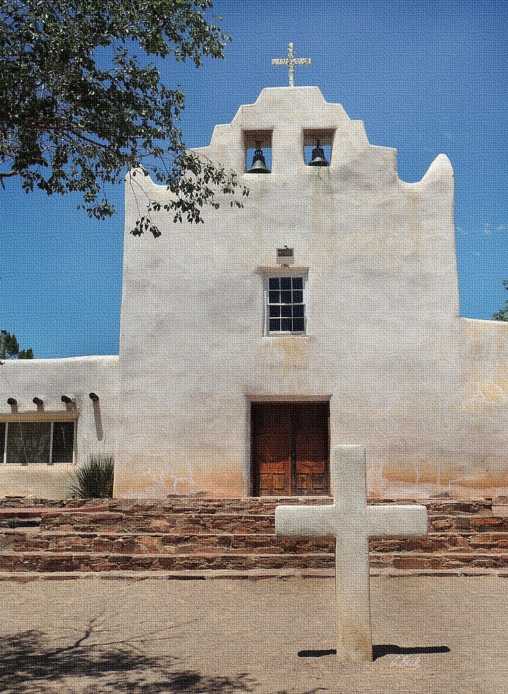 Laguna Mission, New Mexico by Gordon Beck