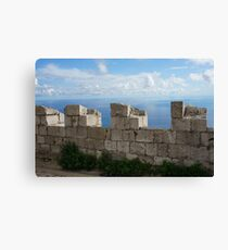 Fortified Canvas Print
