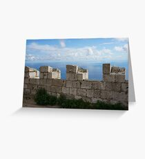 Fortified Greeting Card