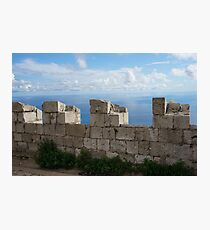 Fortified Photographic Print