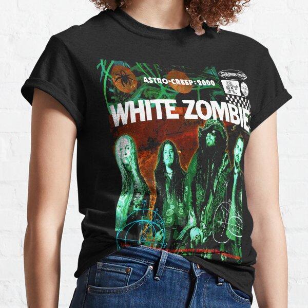 Weißer Zombie Classic T-Shirt