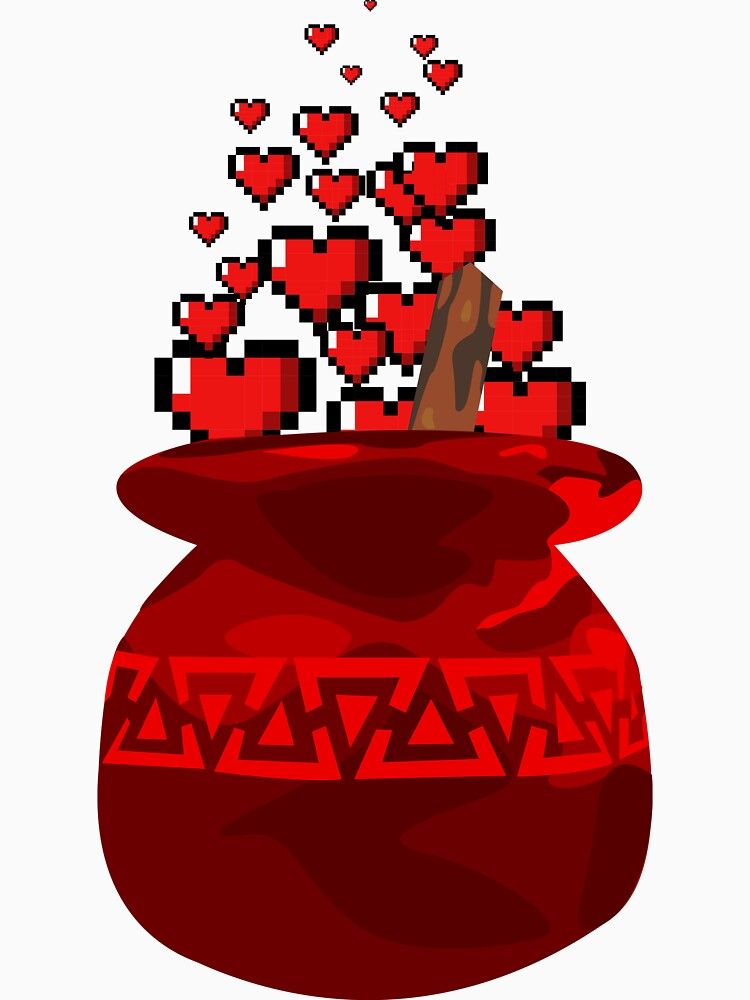 Red Potion Hearts w/o Cartridge by bmgoepfert