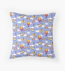 Aviation Throw Pillow