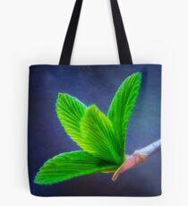 Vivacious Viburnum Leaves Tote Bag