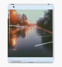 7:42, Walked out of a forest to find rain iPad Case/Skin