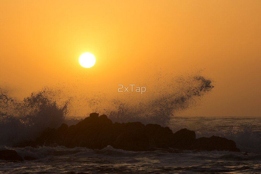 Breakers at Sunset by 2xTap
