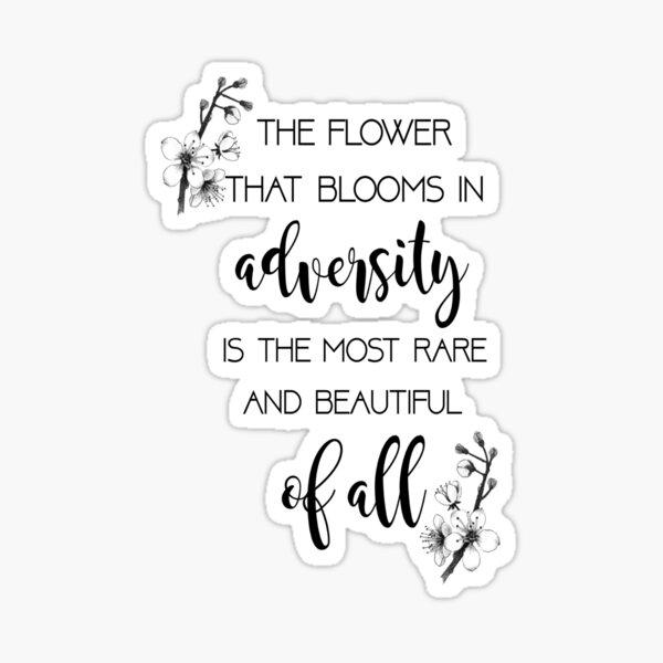 La fleur qui fleurit - Mulan Sticker