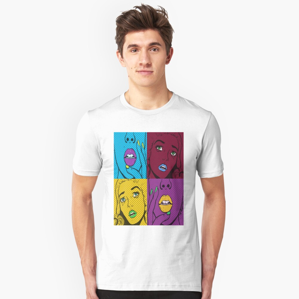 *Gasp* *Wow* Unisex T-Shirt Front