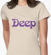 Deep Women's Fitted T-Shirt