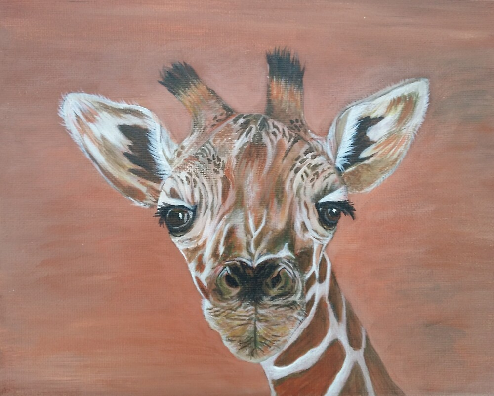 Giraffe by BluGeckos