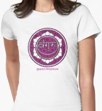 The Sacred Symbol of Guru Jawaharlal Womens Fitted T-Shirt