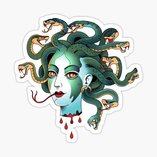 Medusa Gorgona Sticker