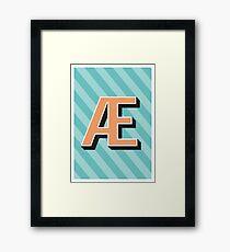 Glyph + Framed Print