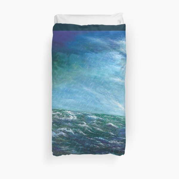 Step Out in Faith by JTMUSES Duvet Cover