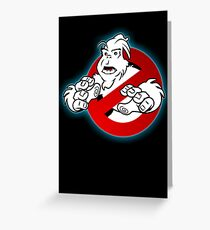 PNW: Ghostbusters Poster (logo) Greeting Card