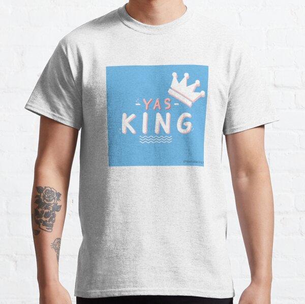 Drag King Yas King typography Classic T-Shirt